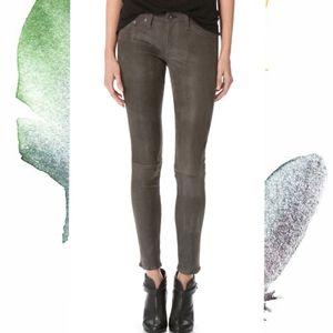 Rag & Bone Hyde Leather Skinny Pants 24
